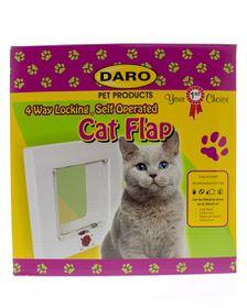 Daro - 4 Way Lockable Cat Flap