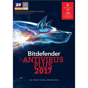Bitdefender 2017 Anti-Virus 4 user