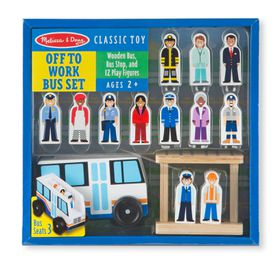 Melissa And Doug Off to Work Bus Set