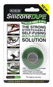 Alcolin Silicone Tape - 3m Green