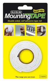 Alcolin Mounting Tape - 1m