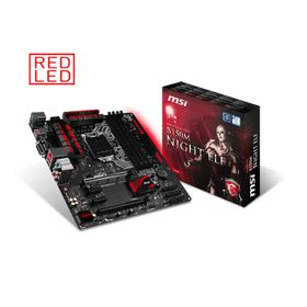 MSI B150M Night Elf mATX Motherboard - Socket 1151
