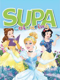 Disney Princess 200 Page Supa Colour & Activity Book