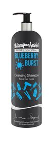 Shampooheads Professional Blueberry Burst Cleansing Shampoo - 500ml