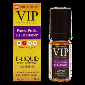 VIP E-Cigarettes 10ml Forest Fruit De La Passion - 8mg