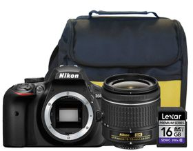 Nikon D3400 24.2MP DSLR Starter Value Bundle