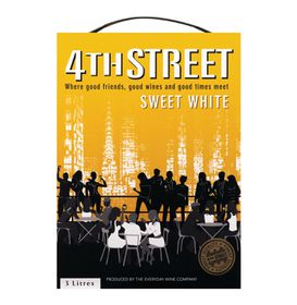4th Street - Natural Sweet White - 3 Litre