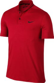 Mens Nike Transition Heather Polo - Red