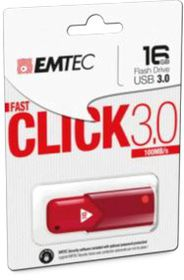 EMTEC B100 USB 3.0 16GB - Red
