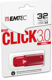 EMTEC B100 USB 3.0 32GB - Red