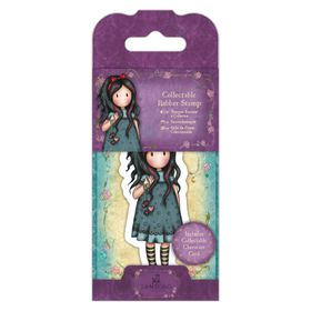 Docrafts Gorjuss Rubber Stamp - No.22 Pulling on Your Heartstrings
