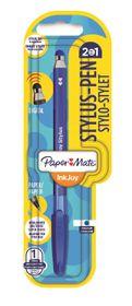 Paper Mate Inkjoy Stylus Ballpoint Pen - Blue