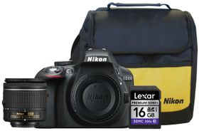 Nikon D3300 24.2MP DSLR Starter Value Bundle