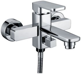 H2Flo - Quadrato Bath Mixer with Hand Shower