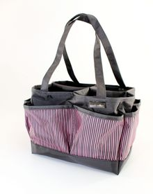 Spoilt Rotten Large Bag - Candy Stripes - Pink