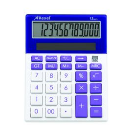 Rexel Joy Series Calculator - Purple