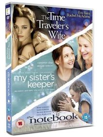 The Time traveller's Wife / My Sister's Keeper / The Notebook (DVD)