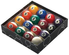 Powerglide Pool Balls (Size:5cm)