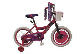 Girls Stitch BMX Bike - 16 Inch