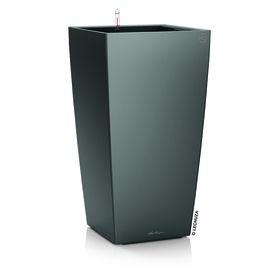 Lechuza - Cubico Premium 40 - Charcoal Metallic