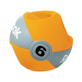 Reebok Studio Double Grip 6kg Medicine Ball - Orange