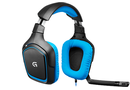 Logitech 981-000537 G430 7.1 Dolby Gaming Headset with Mic - Black & Blue