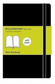 Moleskine Soft Black Extra Large Plain Notebook