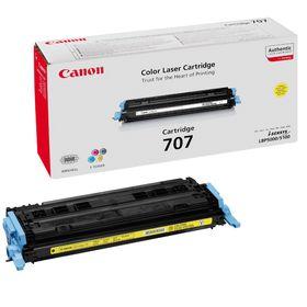 Canon 707 Yellow Toner Cartridge