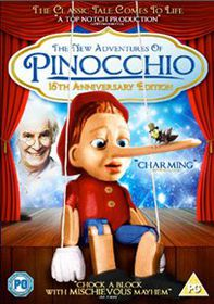 The New Adventures of Pinocchio - (Import DVD)