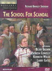 School for Scandal - (Region 1 Import DVD)