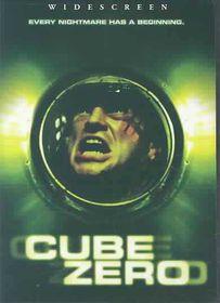 Cube Zero - (Region 1 Import DVD)