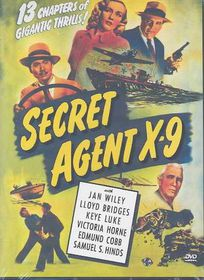 Secret Agent X-9 - (Region 1 Import DVD)
