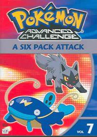 Pokemon Advanced Challenge Vol 7 - (Region 1 Import DVD)