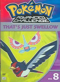 Pokemon Advanced Challenge Vol 8 - (Region 1 Import DVD)
