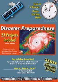 How Do I/Disaster Preparedness - (Region 1 Import DVD)