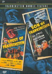 Frankenstein Double Feature - Ghost of Frankenstein/Son of Frankenstein - (Region 1 Import DVD)