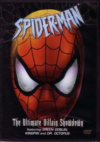Spider-Man : The Ultimate Villain Showdown - (DVD)