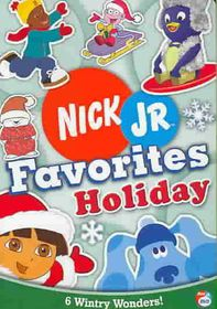 Nick Jr. Favorites Holiday - (Region 1 Import DVD)