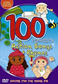 100 Favourite Action Songs - (Import DVD)
