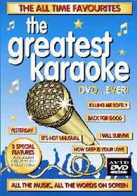 Greatest Karaoke DVD Ever - (Import DVD)