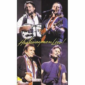 Cash / Nelson / Jennings - The Highwaymen Live (DVD)