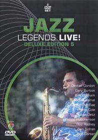 Jazz Legends Live-Deluxe Edi.5 (2 Discs) - (Import DVD)