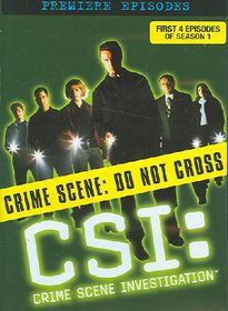 CSI:First Season Disc 1 - (Region 1 Import DVD)