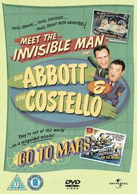 Abbott and Costello - Meet The Invisible Man / Go To Mars - (Import DVD)