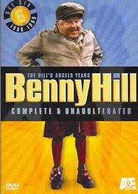 Benny Hill: Set 6 - Complete & Unadulterated - the Hill's Angels Years - (Region 1 Import DVD)