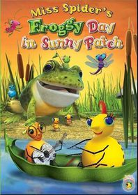 Miss Spider: A Froggy Day In Sunny Patch - (Region 1 Import DVD)