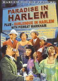 Harlem Double Feature: Paradise in Harlem (1940)/Burlesque in Harlem (1949) - (Region 1 Import DVD)