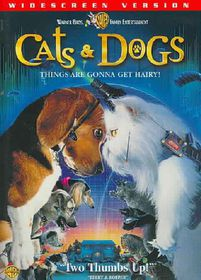 Cats & Dogs - (Region 1 Import DVD)