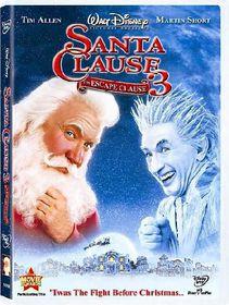 Santa Clause 3:Escape Clause - (Region 1 Import DVD)
