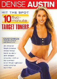 Denise Austin - Hit the Spot: 10-Five Minute Target Toners - (Region 1 Import DVD)